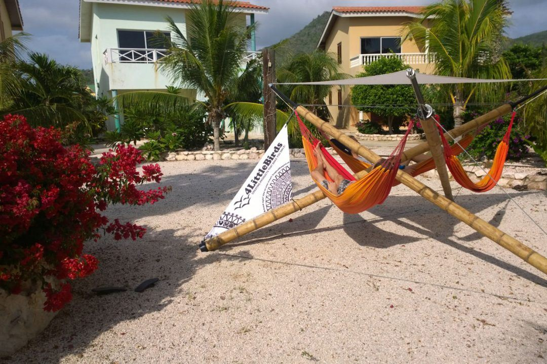 Bamboo hammock construction